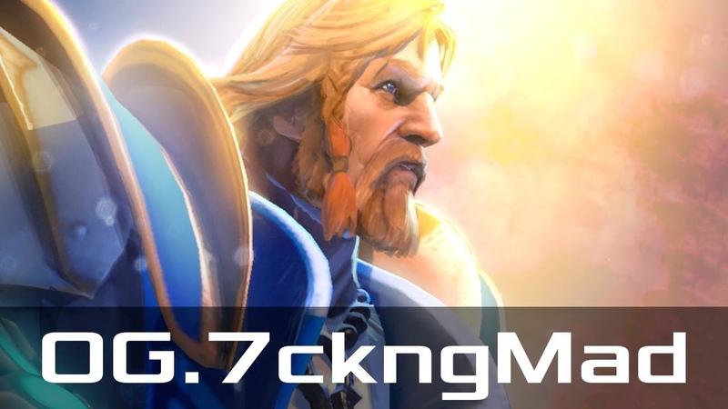 OG.7ckngMad — Omniknight, Offlane (Dec 18, 2018) | Dota 2 patch 7.20 gameplay