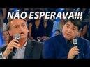 BOLSONARO SURPREENDE EM ENTREVISTA AO DATENA NA BAND TV