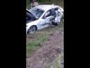 Авария выезд из Зеленодольска. Берегите себя.