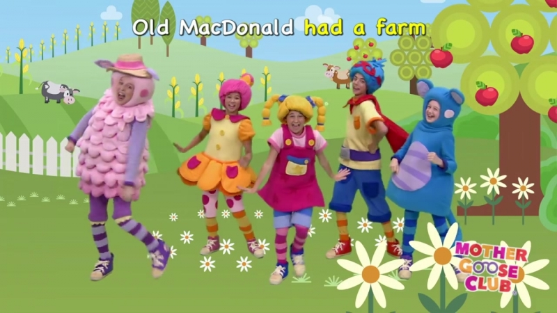 Old MacDonald Had a Farm - Mother Goose Club Nursery Rhymes