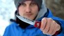 Обзор и поюз Microtech HALO V Бестолковый крутой нож