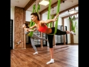 Антигравити йога в фитнес-клубе Парус