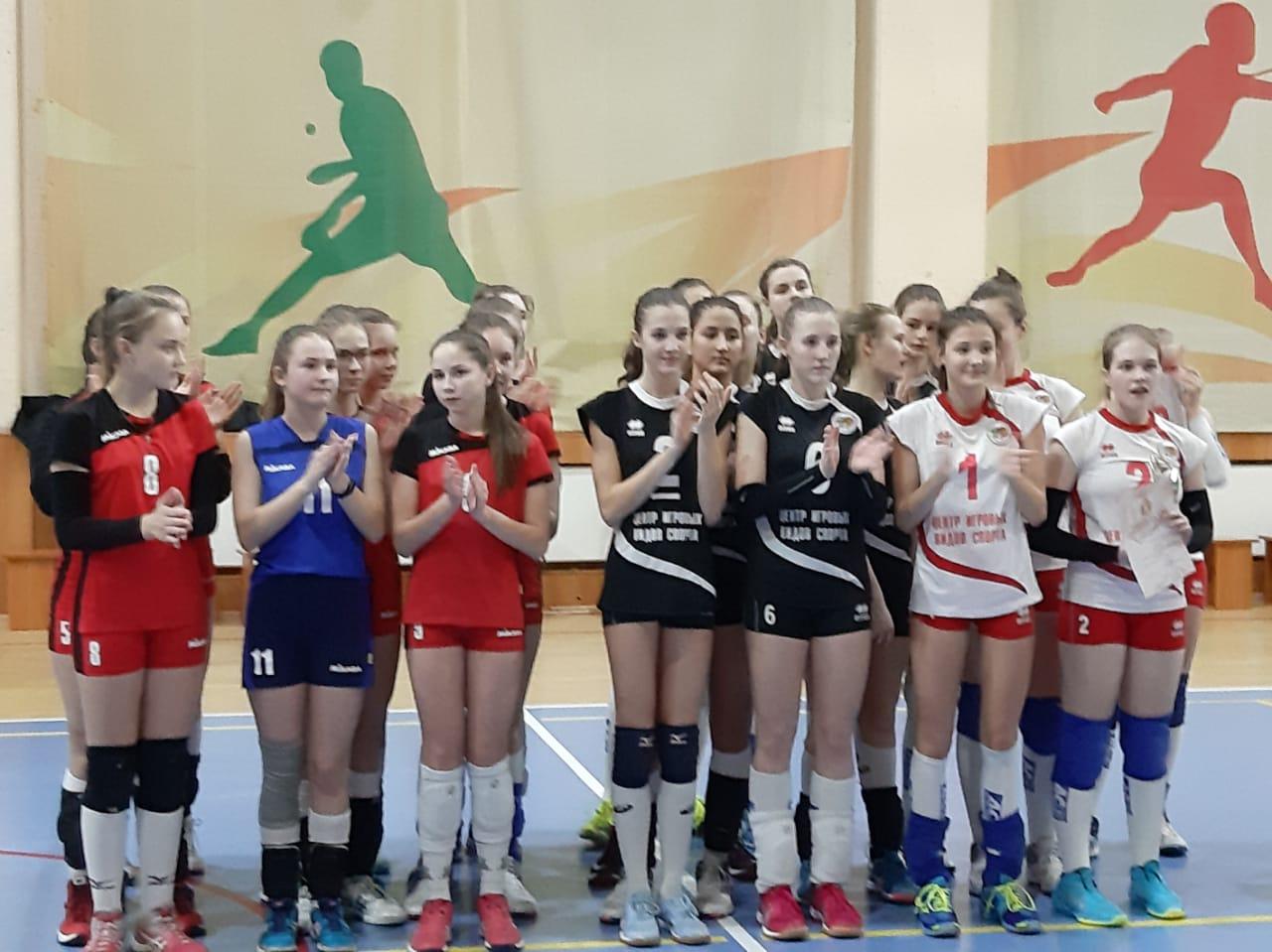 первенство города Новосибирска по волейболу среди команд девочек 2004-2005г.р.