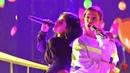 Anitta y Becky G en los bastidores del Latin Billboard Music Awards 2019