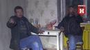 Бомжи в бывшем опорном пункте полиции