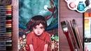나의 붉은 고래 大鱼海棠 손그림 그리기 드로우홀릭