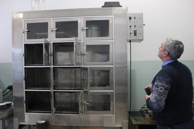 Термостат в кабинете технологии и Роман Александрович