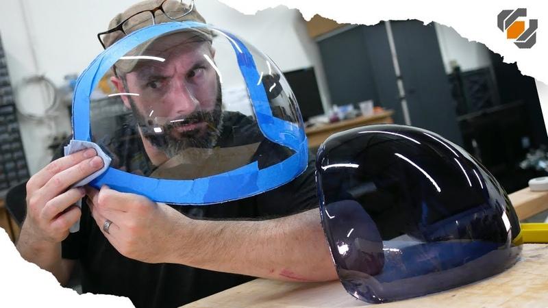 ACES Astronaut Helmet Visor for Adam Savage Vacuum Forming Tutorial смотреть онлайн без регистрации