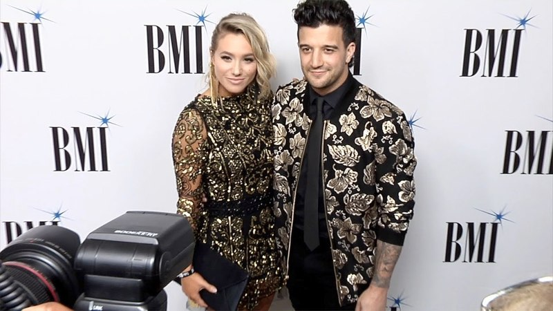 BC Jean and Mark Ballas 66th Annual BMI Pop Awards Red Carpet