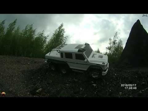 Долгожданные испытания По пересеченной местности HG Heng Guan P601 Белый гелик