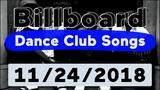 Billboard Top 50 Dance Club Songs (November 24, 2018)