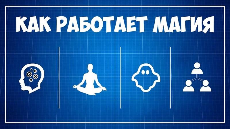 Как работает МАГИЯ 4 магические концепции