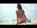 Lais Ribeiro Wears Nothing But Bikini Bottoms | Sports Illustrated Swimsuit