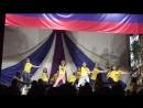 4смена 2018 танец вожатых