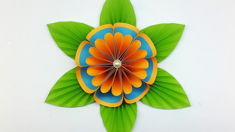 DIY Paper Flower Backdrop - Easy Flower Making Tutorial
