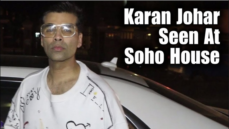 Karan Johar And Abhishek Kapoor Spotted Outside The Mumbai Restaurant