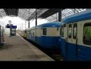 Dm7 museojuna lähtee Helsingin rautatieasemasta