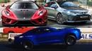 Электро Камаро в дыбах! Бюджетный Koenigsegg, Новая Corolla в Россиию, Hennessey Venom F5!