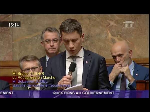 Après l'attaque de Strasbourg le député alsacien Bruno Studer rend un hommage ému