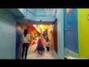 бумажное шоу с толлями в детском клубе Мини Бамбини