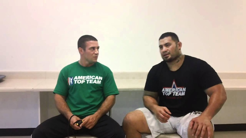 Mark hunt interview w stefane dias for ufc