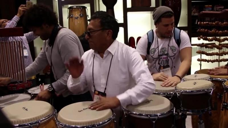 Alex Acuña Percussion Solo - Drumeo