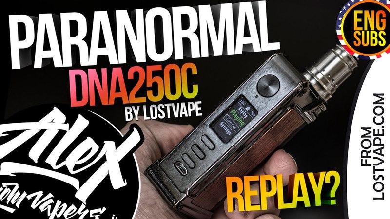ТЕРМОКОНТРОЛЬ БЕЗ ЗАМОРОЧЕК! С НОВОЙ ФУНКЦИЕЙ - REPLAY l Lost Vape Paranormal DNA250C l ENG SUBS🚭🔞