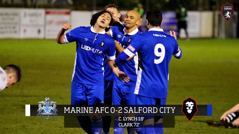 Marine AFC 0-2 Salford City - Evo-Stik Northern Premier League 23.02.16