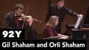 "Gil and Orli Shaham play Presto from Avner Dorman's Violin Sonata No 3 Nigunim"""