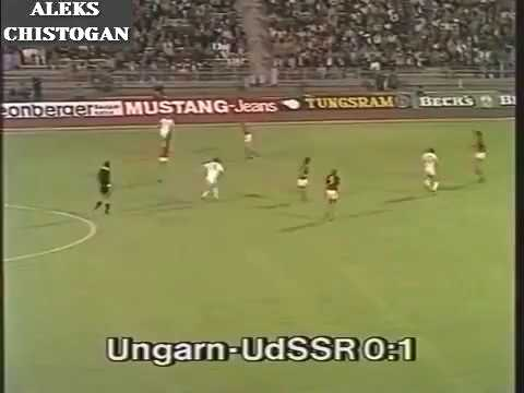 1983 07 09 Hungary olympic USSR olympic 0 1 Qualifying match Olympics