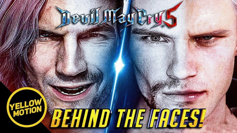 DEVIL MAY CRY 5 Meet Adam and Karlo The Real Faces Behind Dante and Nero Thoughts Discussion