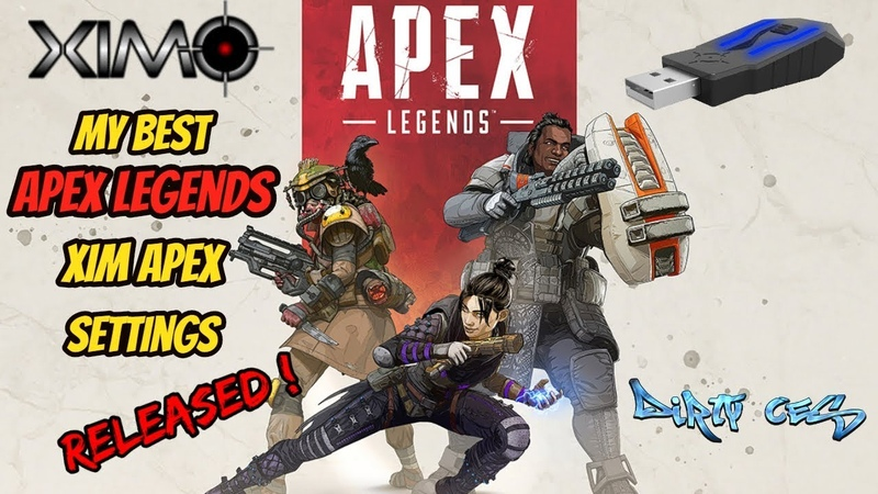 APEX LEGENDS XIM APEX MY BEST SETTINGS FOR XBOX AND PS4