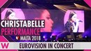 Christabelle Taboo Malta 2018 LIVE @ Eurovision in Concert 2018