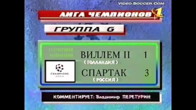 Спартак (Москва) в Лиге Чемпионов и Кубке УЕФА 1999-00