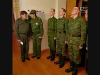 Праздничное настроение в армии