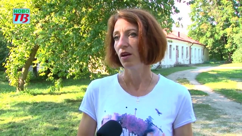 НовоТВ- репортаж про волонтерский летник в усадьбе Хрептовичей в Щорсах.mp4