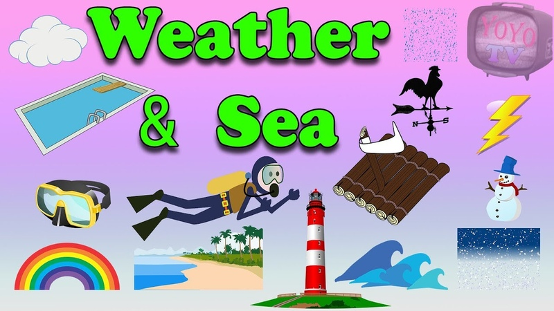 Weather and Sea Vocabulary