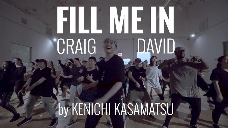 FILL ME IN - Craig David | by Kenichi Kasamatsu | @peridance