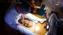 Мешканець Гуляйполя із інвалідністю малює ногами та зубами