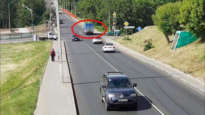 ДТП в Серпухове. Подставился под Газель... 12 июня 2018г.