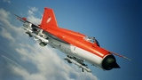 Ace Combat 7 Skies Unknown - Mig-21bis unlock Erusia Red SkinPs4