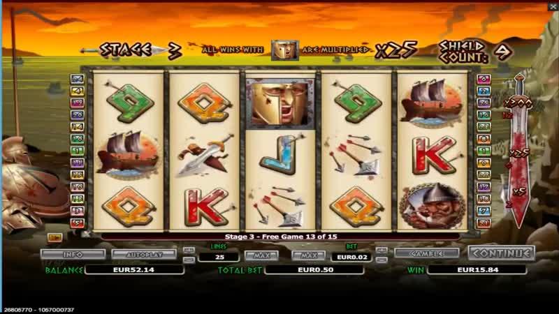 300 Shields 0 50 € Bet 300 x Multiplier BIG WIN