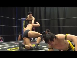 KUDO, Masahiro Takanashi vs. MAO, Yuki Ueno (DDT - Sunday Kasukabian! 2018)