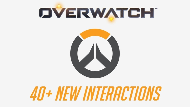 Overwatch - 40 New Interactions