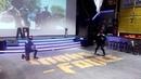 Зажигательное выступление донских казаков на ББС компании Apl в г.Таганроге