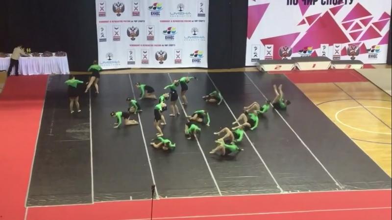 Чир-джаз ЦСХ-ВОСТОК ЧР-2018