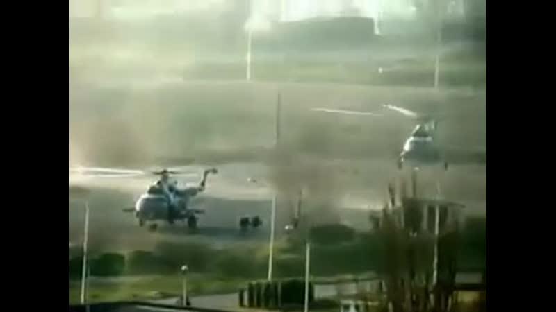Высадка с вертолетов в Мариуполе. 17 апреля 2014-го.
