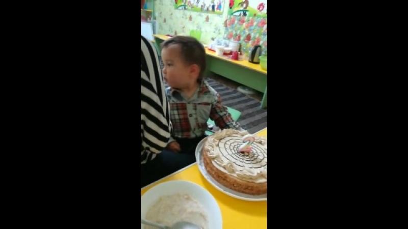 день рождения сына