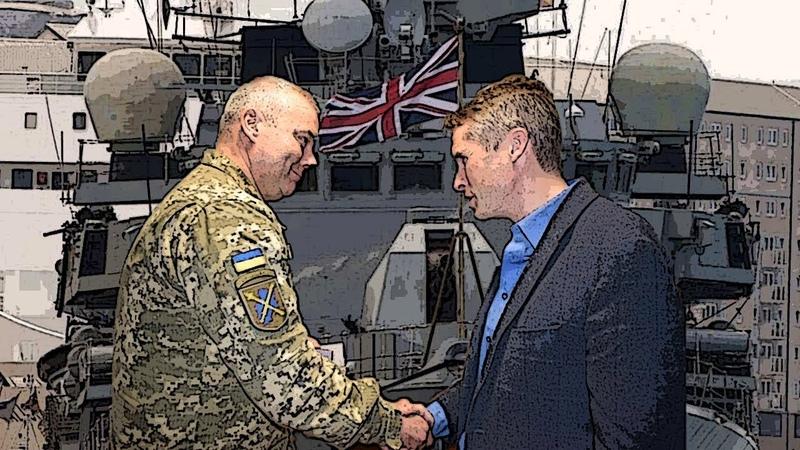 Для помощи ВСУ прибудет Королевский флот Британии
