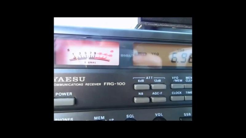 6990 khz Радио Коминтерна.